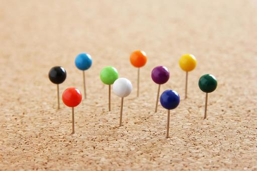 10 Person Ten Color Pins 10