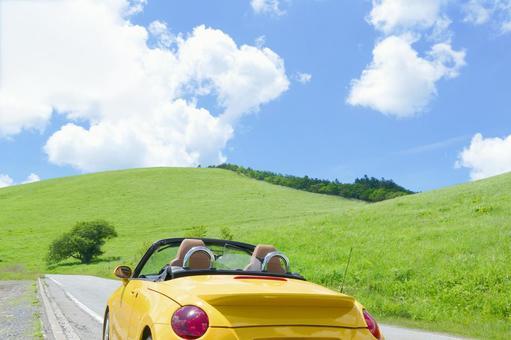 Let's drive summer highlands