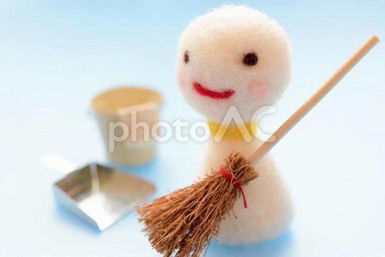 掃除の写真