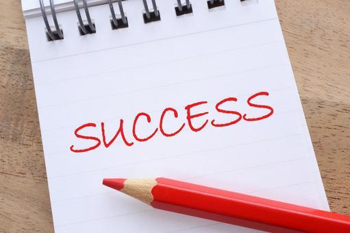 Success SUCCESS Image Material Note