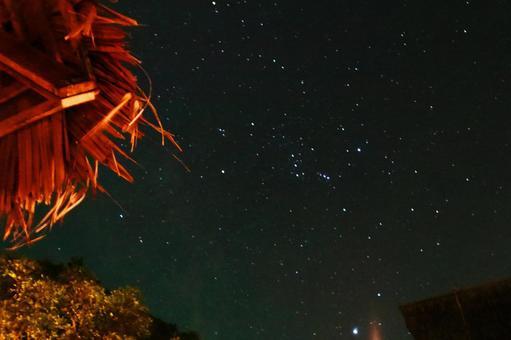 Starry sky on Phi Phi Island