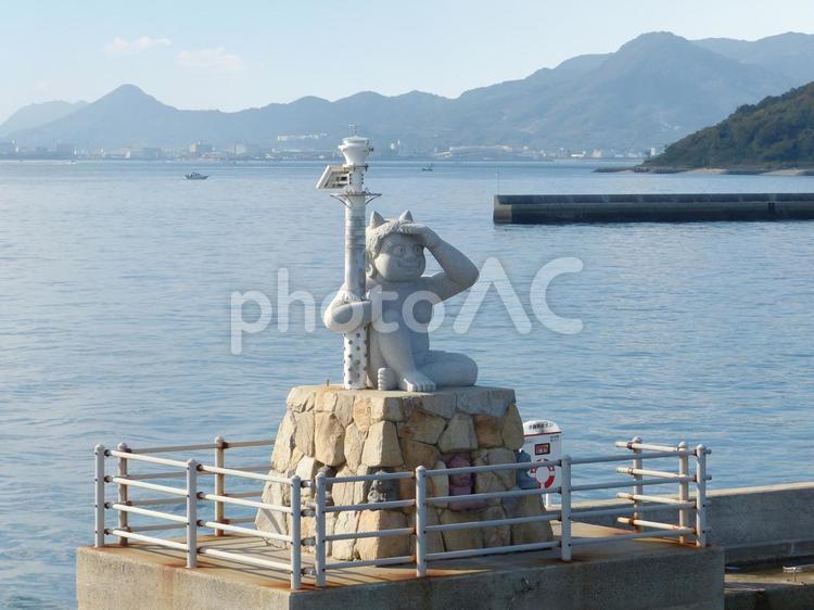 女木島(おにの灯台)の写真