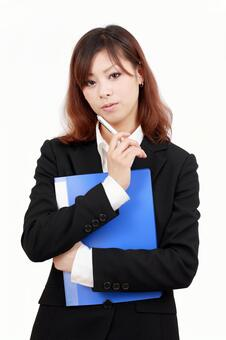 Think business woman
