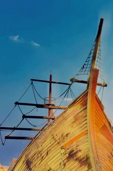 Adventure Pirate ship and summer vacation