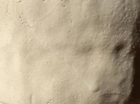 도자기 피부 시노 흙 흰색