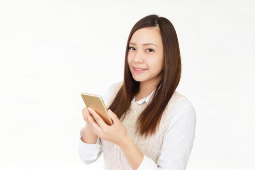 Female smartphone