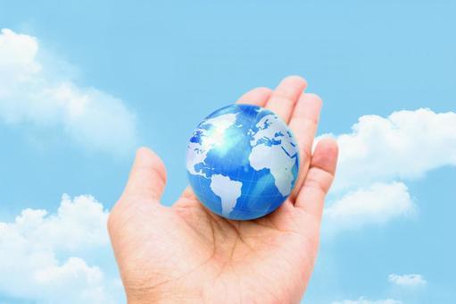 手与地球4