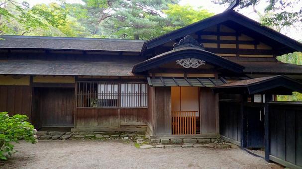 Kakunoda Samurai House Iwahashi Home