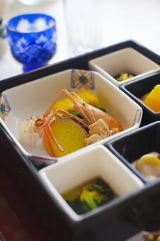 Festive Japanese food