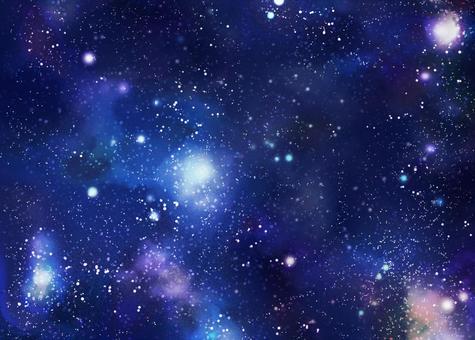 背景素材 太空星空圖片
