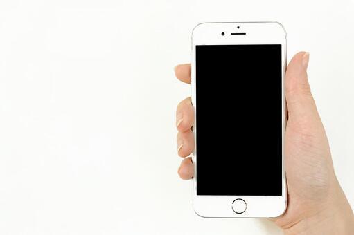 Screen of smartphone