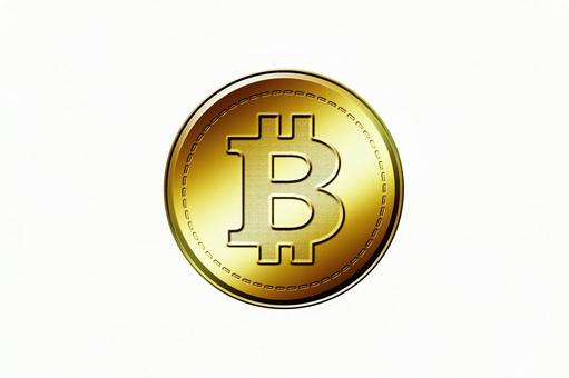 Bit coin Bitcoin 1 outline