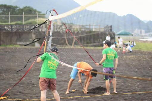 沼津沙滩排球