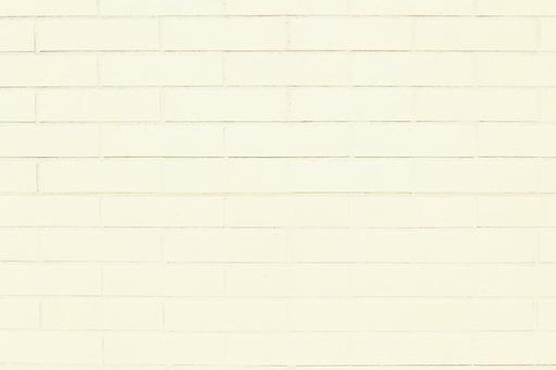White brick wall | Brick background material