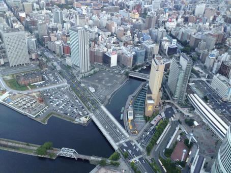 Yokohama aerial view