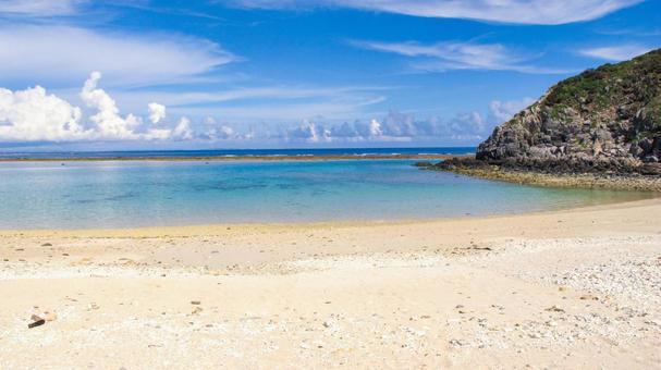 阿波連 비치 오키나와 토카 시키 섬