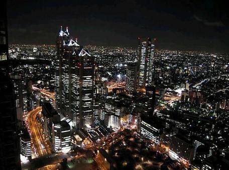 Night view of Tokyo · Shinjuku edition 1