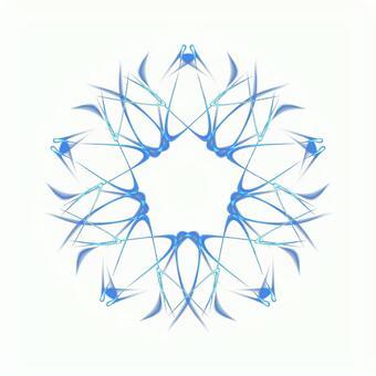 Fantasy pentagonal PSD background through 20201006_004