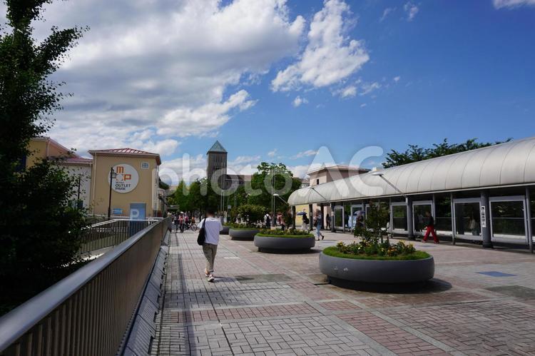 京王線南大沢駅 三井アウトレットパーク方面の写真