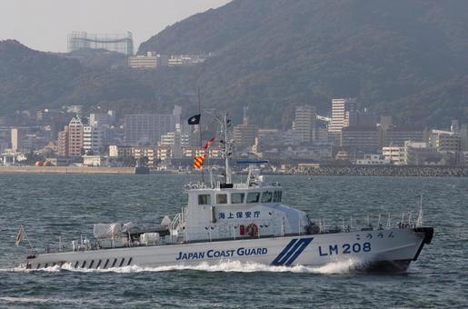 해상 보안청의 등대 순찰 선박 LM208 운