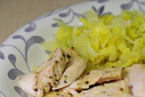 Pickled steamed chicken dressing
