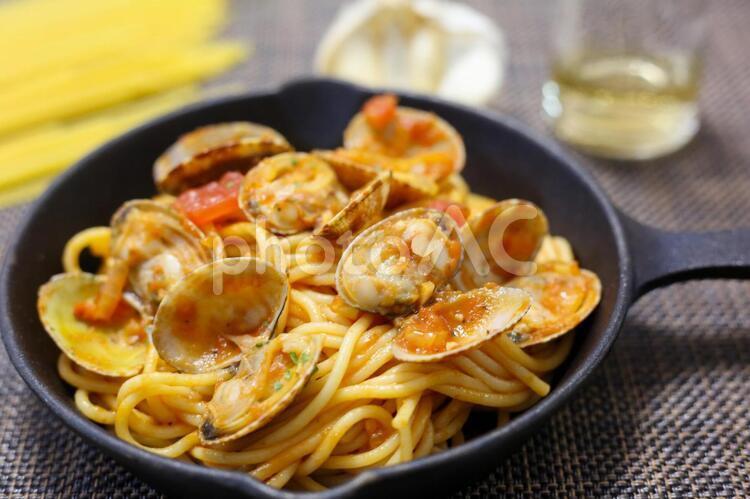 スパゲティ ボンゴレ・ロッソの写真