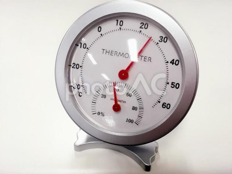 温度計・湿度計の写真
