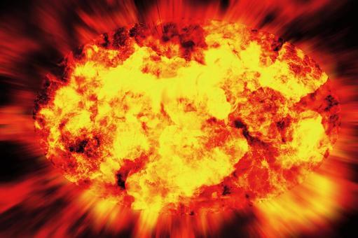 爆炸效果大爆炸火焰