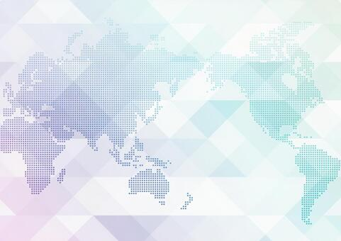 World network iridescent