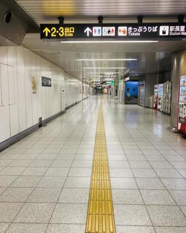 Unmanned subway yard