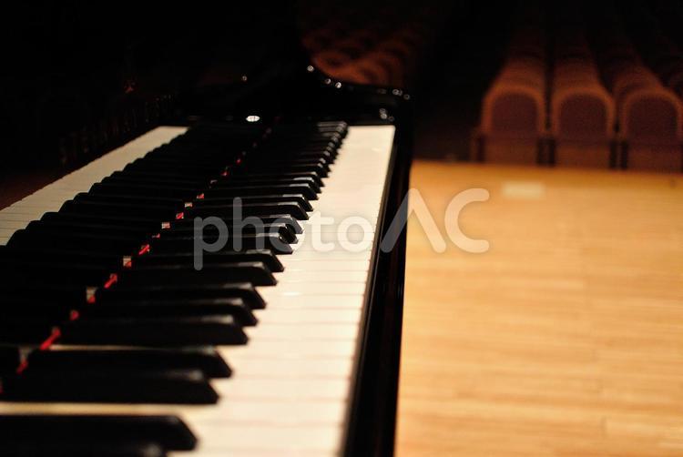 ピアノ・ステージの写真