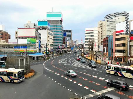 Road traffic image