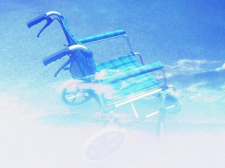 Wheelchair light and sky 04