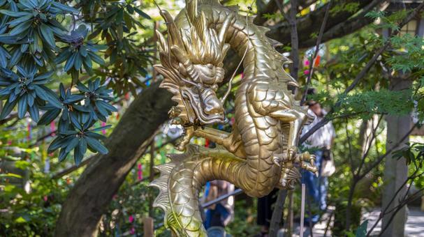 Wind chime festival at Nyoirinji Temple Fukuoka Prefecture