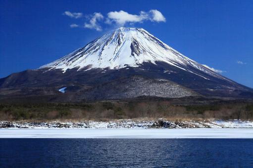 Beautiful Mt. Fuji_Lake Shoji