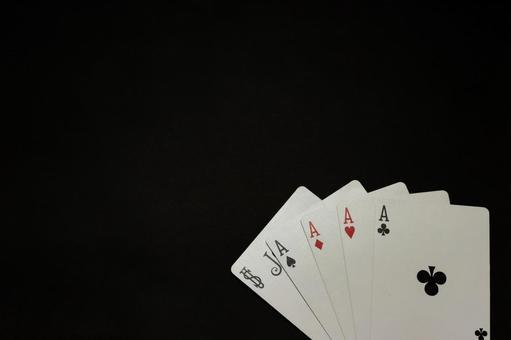 【트럼프】 파이브 카드 5 카드 [포커]