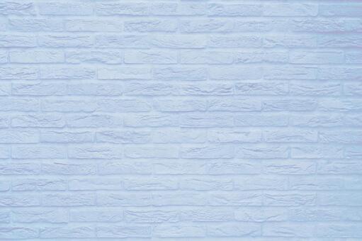 Brick background material Texture - light blue