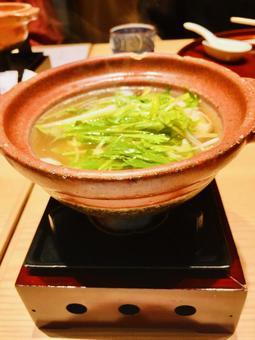 일본 팬 1 명의 어엿한 스토브 탁상 스토브 야채 따뜻한 맛있는 건강