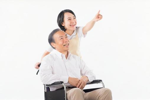 Men and nurses on a wheelchair 35