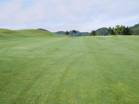 Golf course fairway hokkaido