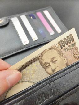 지갑과 지폐 1