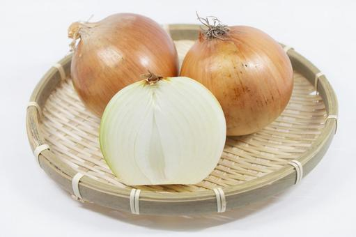 Specially cultivated onions