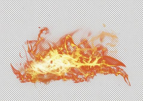 Background Material Transparent Effect Flame Transparent psd