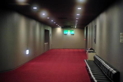 Lobby with nobody