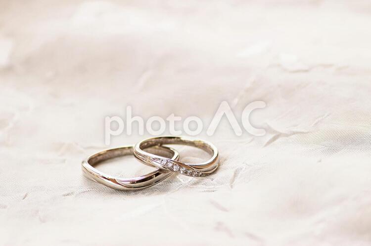 愛の指輪 の写真