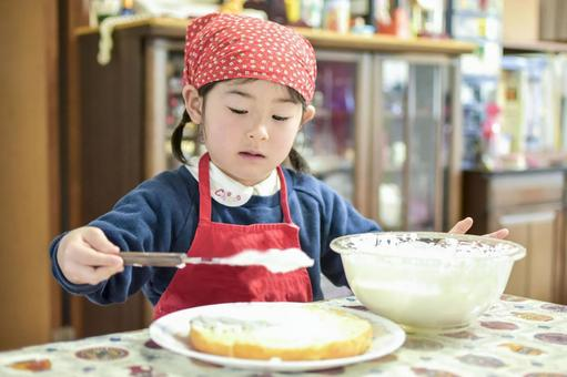 Cooking children