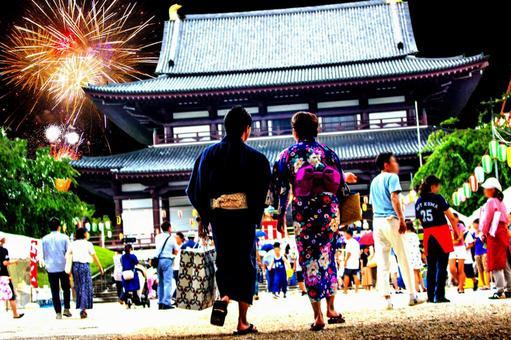 Yukata dates 4 fireworks festival