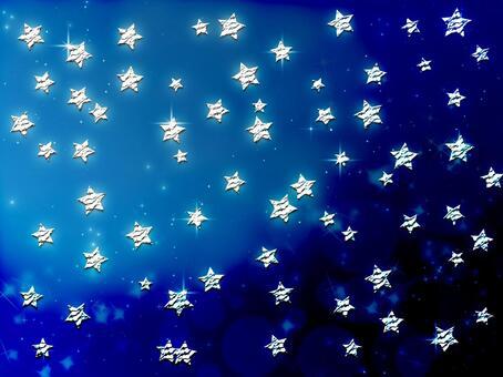 Background material · Design · Blue back star