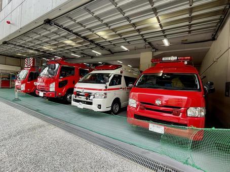 Fire engine ambulance