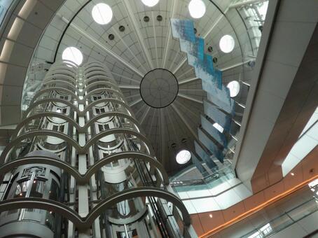 Elevator Escalator Haneda Airport